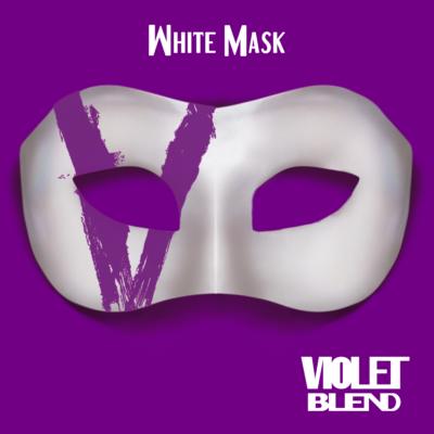 Violet Blend - White Mask